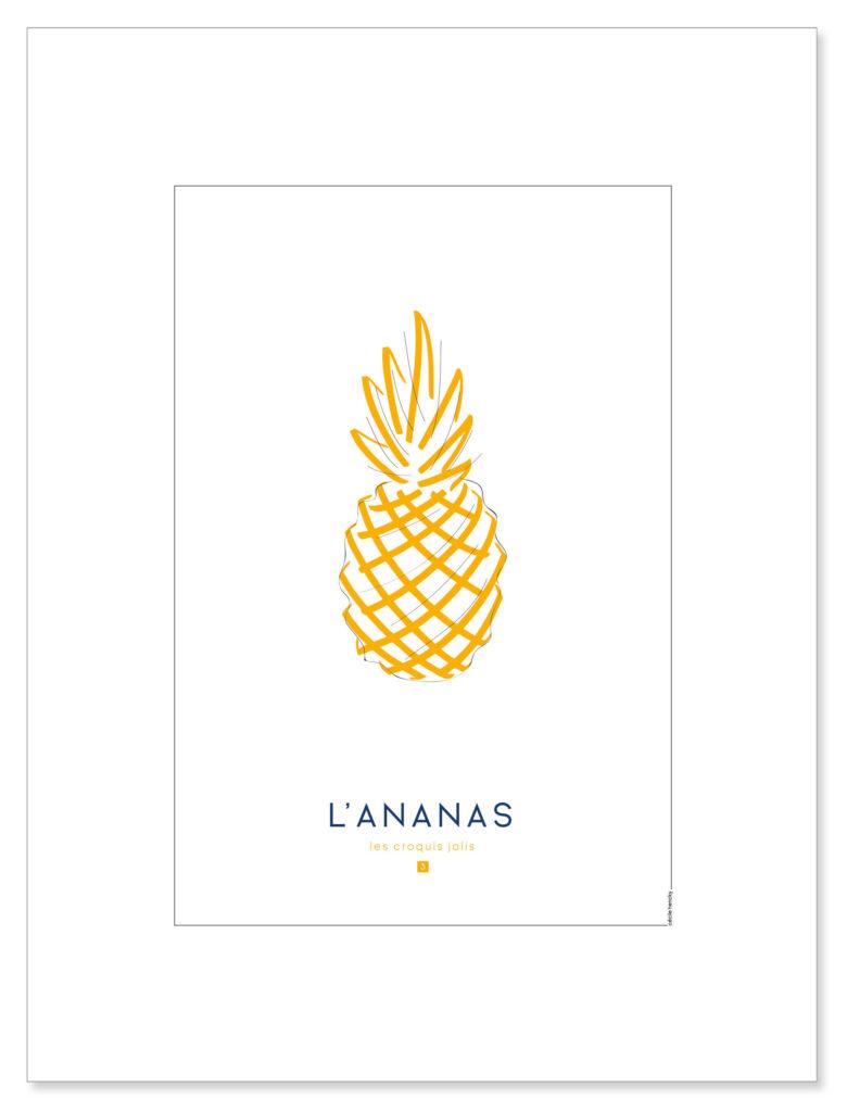 affiche-croquis-ananas-visuel