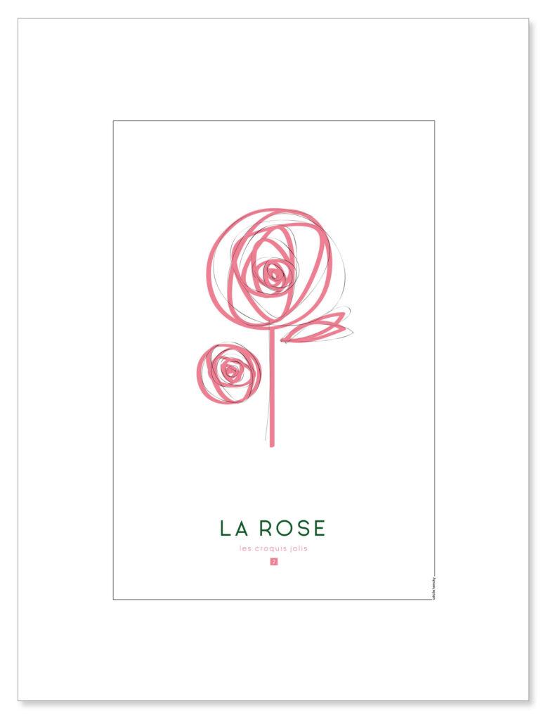 affiche-croquis-rose-visuel